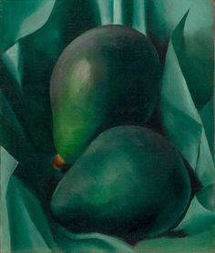 Georgia O'Keeffe American, 1887 – 1986 Alligator Pears, 1923 Oil on canvas Alfred Stieglitz, Georgia O'keeffe, New Mexico, Georgia O Keeffe Paintings, Wisconsin, New York Art, Art Graphique, Sculpture, Color Theory