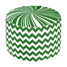 School Colors Chevron Pouf Seat,Green-White Round Pouf http://www.zazzle.com/school_colors_chevron_pouf_seat_green_white_manualwwroundpouf-256292064059032527?rf=238588924226571373