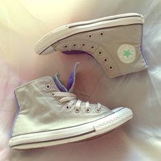 "Selling this ""Converse Grey Blue & Green"" in my Poshmark closet! My username is: beachgateway. #shopmycloset #poshmark #fashion #shopping #style #forsale #Converse #Shoes"