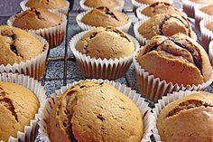 Erdnussbutter - Nutella - Muffins