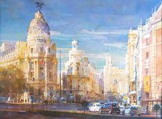 Geoffrey Wynne Acuarelas - Watercolours: Viajes - Travelling