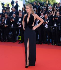 Doutzen Kroes in Brandon Maxwell at Cannes Film Festival 2016: What Everyone Wore on the Red Carpet - Cannes Film Festival 2016: What Everyone Wore   wmag.com