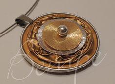 Nespresso-Kette Schmuck gold/silber von Bempe - pfiffige Geschenke auf DaWanda.com