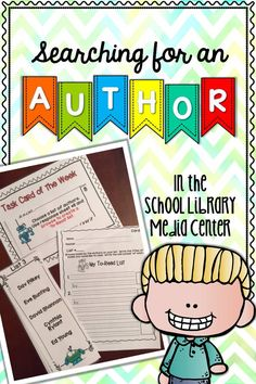 Teach search skills in the school library media center with fun task cards. $