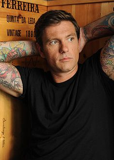 Canadian Chef Chuck Hughes...brings a whole new meaning to the word delicious!!!! YUM!!!!!