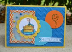 Sketched Birthday Shaker Card, Stampin' Up!, Christies Creative Corner