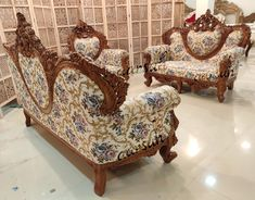 Aarsun Teak wood 7 seater sofa set with center table wooden couch handcrafted Furniture. The unit is designed by skilled artisan in premium quality teak wood. Living Room Sofa, Living Room Furniture, Wooden Sofa Set Designs, Wooden Couch, Indian Bedroom, Traditional Sofa, Center Table, Flower Backgrounds, Teak Wood