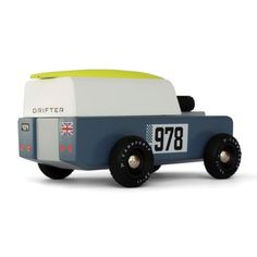 CandyLab The Drifter Heirloom wood toy car, inspired by mid-century American design and iconic car culture. Orange Leaf, Wood Toys, Gifts For Him, Desktop, Mid Century, Kids, Wooden Toy Plans, Young Children, Boys