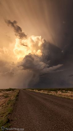 Supercell near Carlsbad, New Mexico, May 23, 2014