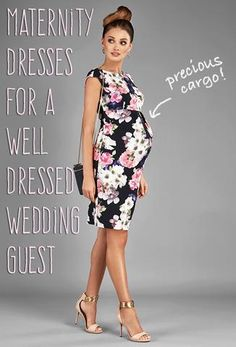 Maternity dresses for a well dressed wedding guest