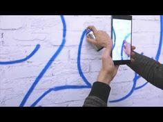 SketchAR with Tango Technology-Lenovo Phab 2 Pro. Drawing using augmente...