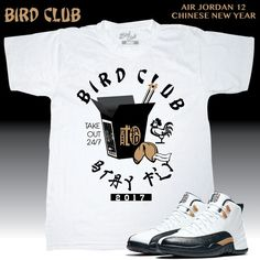 cb7d3820e6f2 Air Jordan Chinese New Year tee by Bird Club Clothing. Purchase at  www.birdclubclothing.com. Follow on IG  birdclub06