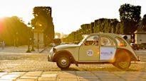 Tour Paris in a little car!
