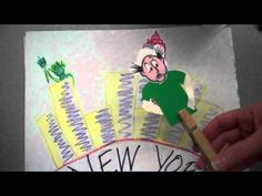 Cool Paper Slide Video... I've never made one but I could see doing this to introduce a new artist at the beginning of an art lesson. Read  how this Georgia Art Teacher at The Crayon Lab introduces new artists to her students.