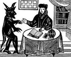 La imagen del diablo tuvo una especie de renovación en el siglo XIX. De ser el enemigo de Dios y la humanidad, de apariencia monstruosa y abominable, a partir del Fausto de Johann Wolfgang Goethe (1749-1832) se metamorfosea en un personaje carismático, sabio y hasta bien vestido. Luego, las simpatía