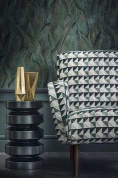 Casamance Opus autumn/winter 2015 Luxury Chairs, Luxury Furniture, Furniture Design, Upholstery Cushions, Fabric Armchairs, Casamance, Residential Interior Design, Upholstered Furniture, Pelmets