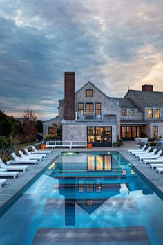 Squam Residence on Nantucket Island, Massachusetts by J. Brown Builders.