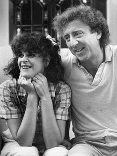 Gilda Radner and Gene Wilder. A dream couple. Both gone now.