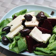 """Beet and Arugula Salad 