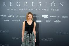 Emma Watson al photocall per Regression a Madrid, Spagna - 27.08.15