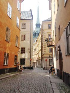 GAMLA STAN 旧市街 (ガムラ スタン) ストックホルム Old city In Stockholm