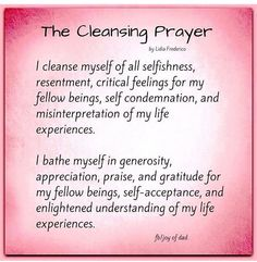 Leaving you tonight with this cleansing prayer. Happy smudging everyone! Spiritual Cleansing, Spiritual Health, Spiritual Growth, Sage Cleansing Prayer, Spiritual Practices, Smudging Prayer, Sage Smudging, Mantra, Cleanse Me