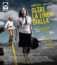 Poster 70x140 promozionale per il film Oltre La Linea Gialla (2016)