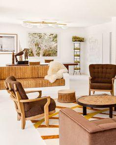 modern home of interior designer serge castella. / sfgirlbybay