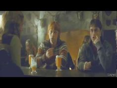 "ron and hermione + Ed Sheeran??? yes please ;) (video to ""give me love"" by ed sheeran)"