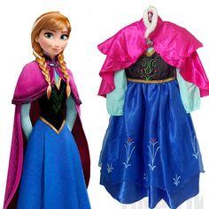 $12.59 (Buy here: https://alitems.com/g/1e8d114494ebda23ff8b16525dc3e8/?i=5&ulp=https%3A%2F%2Fwww.aliexpress.com%2Fitem%2F2016-Hot-Sell-Elsa-Anaa-Girls-Princess-Children-Dress-Party-Fantasia-Vestidos-Infants-Dresses-Summer-Baby%2F32597701560.html ) 2016 Hot Sell Elsa Anaa Girls Princess Children Dress Party Fantasia Vestidos Infants Dresses Summer Baby Kids Custom Dresses for just $12.59