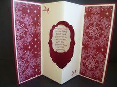 Christmas Tunnel Card