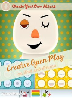 Fun Creative Open Play for Kids on iPad and iPhone - like Mr.Potato Head but much more. #kidsapps