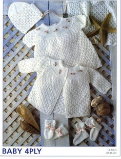 6df13e39a KNITTING PATTERN TO MAKE MATELOT 34 PIECE SALOR SET FOR BABY OR