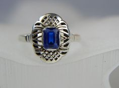 Warmet Warszawa katalogowy-srebro próba 1 Signet Ring, Band Rings, Jewerly, Sapphire, Polish, Vintage, Jewlery, Vitreous Enamel, Schmuck