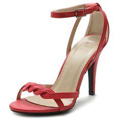 Ollio Women's Shoe High Heel... from shoecafe24.com on Wanelo
