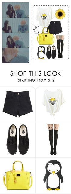 """""""Date with G-Dragon"""" by schnpri ❤ liked on Polyvore featuring Vans, CXL by Christian Lacroix, MANGO, bigbang, date, kpop, GD and gdragon"""