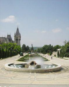 Palatul Culturii Iasi Romania Culture Palace european romanian palaces Moldova…