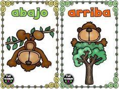 Opuestos, antónimos o contrarios, tarjetas para trabajar en clase II - Imagenes Educativas