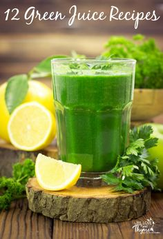 12 Green Juice Recipes - Start (or continue) your juicing journey with these great recipes.