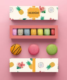 Packaging Design | Cajita para Macarons [DIY] | Sweet Magazine