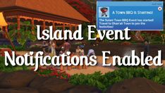 Island Event Notifications Enabled | Scarlet on Patreon Turtle Hatching, Sims 4 Traits, German Translation, Sims 4 Characters, Beach Bonfire, Family Fun Day, Sims 4 Mods, Sims Cc, Enabling