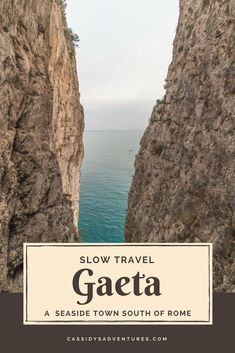 Looking for a #getaway from #Rome? Discover my #travelguide to #Gaeta - a #seaside town with fantastic #Italianfood, amazing #hiking opportunities, beautiful #beaches, friendly #locals, and more. | Promoting #slowtravel and #sustainabletourism throughout #Italy. #CassidysAdventures