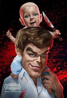 #Dexter #Illustration
