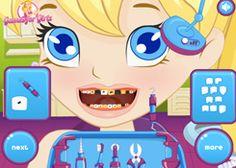 JuegosPolly.com - Juego: Problemas de Dientes - Jugar Gratis Online