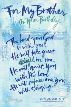 Image Result For Christian Happy Birthday Brother Images Greetings