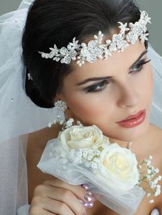 Foreflowers Headband with Flowers