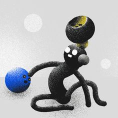 this is very hypnotic. by Ori Toor Ori Toor awesome illustration gif animated animation