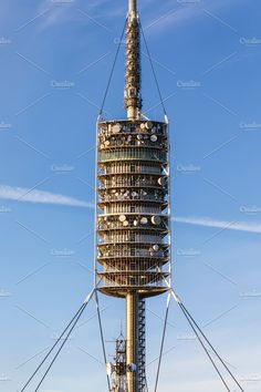 Communication Tower by OSORIOartist on @creativemarket