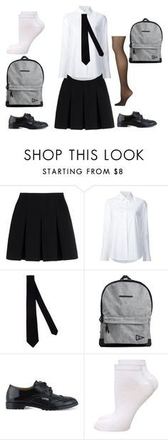 """""""School Uniform -2"""" by abbylud on Polyvore featuring Alexander Wang, Misha Nonoo, Armani Collezioni, H&M, step2wo, Dorothy Perkins and Calvin Klein"""