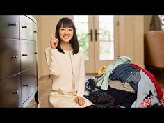 Tidy Up Your Home: The KonMari Method : Storing clothes 2: Demonstration - YouTube